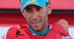 Astana's  Vincenzo Nibali is back in the lead at the Vuelta after stage four. Photograph:  Miguel Vidal/Reuters
