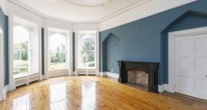 There are three huge reception rooms, each one boasting impeccably restored plasterwork and huge fireplaces