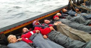 Sleeping arrangements on board the Sea Stallion