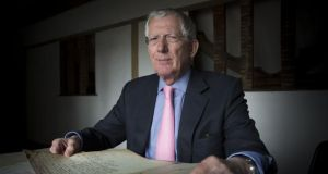 Personal account: Nick Hewer's Irish background was analysed on Who Do You Think You Are?