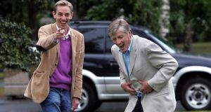 Pat Kenny with Ryan Tubridy. Photograph: Matt Kavanagh