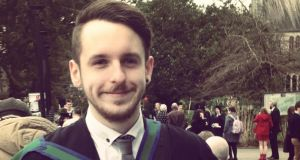 Jamie Ralph left Ireland for London a day after graduating with a Masters in politics from UCC in February.