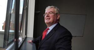 """We have been assured by the United Nations that every arrangement that is possible will be put in place to ensure their safety and security,"" said  Tánaiste and Minister for Foreign Affairs Eamon Gilmore yesterday. Photograph: Paul Faith/PA Wire"