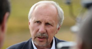Ewald Nowotny, ECB policymaker and governor of the Central Bank of Austria, said interest rates were unlikely to rise for the foreseeable future. Photograph: Price Chambers/Bloomberg.