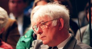Seamus Heaney did not confine himself to poetry. A respected critic, he also was a distinguished academic and his translations from Greek, Latin, Italian, Irish and Anglo-Saxon reflect the extent of his learning. Photograph: Dara Mac Dónaill/The Irish Times
