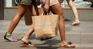 Irish consumer sentiment fell in August as the end of the summer sales, back to school commitments and the upcoming budget stifled the buying climate. Photograph:  Jonathan Brady/PA Wire.