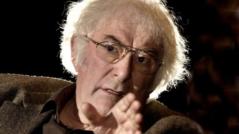 The poet photographed during an interview at the Abbey Theatre in 2004.  Photograph: Matt Kavanagh/The Irish Times