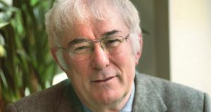 Seamus Heaney at home in Sandymount in 1999. Photograph: Pat Langan/The Irish Times