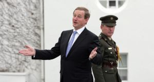 Enda Kenny will certainly lead his party into the next general election. Photograph: Alan Betson