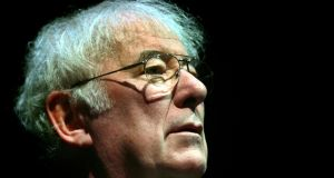 Nobel Prize winning poet Seamus Heaney who died today aged 74. Photograph: Cyril Byrne/The Irish Times