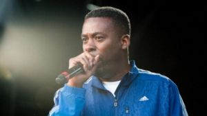 GZA of Wu Tang Clan performs on stage at the Electric Picnic Festival  at Stradbally Hall Estate last night. Photograph: Getty