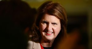 Minister for Social Protection Joan Burton has said social welfare rates will not be cut in the budget.  Photograph: Alan Betson/THE IRISH TIMES.