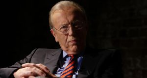 Renowned British broadcaster Sir David Frost died on Saturday night aged 74. Photograph: Lisa Maree Williams/Getty Images
