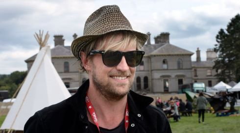 Former Westlifer Cian Egan looking for a Picnic. Photograph: Brenda Fitzsimons/The Irish Times
