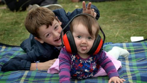 Patrick and Aisling from Portlaoise at the Electric Picnic. Photograph: Brenda Fitzsimons/The Irish Times