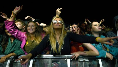 Party animals, we presume. Photograph: Brenda Fitzsimons/The Irish Times