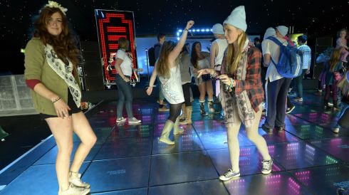 This dance-off is no Picnic. Photograph: Brenda Fitzsimons/The Irish Times