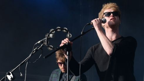 Kodaline do their business. Photograph: Brenda Fitzsimons/The Irish Times