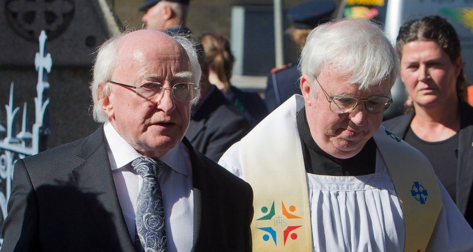Funeral of Seamus Heaney