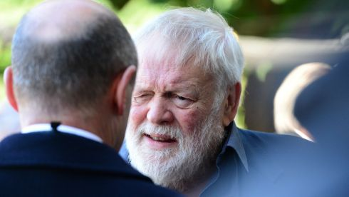 Fellow poet Michael Longley. Photograph: Bryan O'Brien/The Irish Times