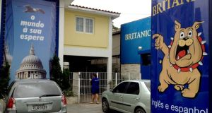 The Britanic language school in Recife, Brazil, in which Michael Lynn taught English  for 13 hours a week.  Photograph: Ruadhán Mac Cormaic