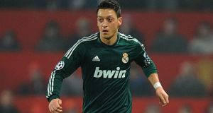 Germany international Mesut Ozil has signed for Arsenal from Real Madrid. Photograph: Martin Rickett/PA Wire