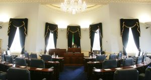 Referendum on Seanad set to take place in October. Photograph: Alan Betson