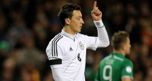 Germany's Mesut Özil has joined Arsenal from Real Madrid for €50m. Photograph: Lorraine O'Sullivan/Inpho