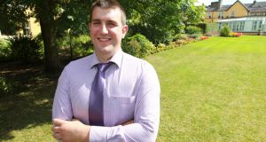 John Buckley, Carbery, Co Cork, is Macra na Feirme's FBD Young Farmer of the Year.
