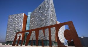 Titanic Belfast:  the city appears to have built something strong and lasting out of its most famous disaster. Photograph: Peter Muhly/AFP/Getty