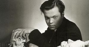 Orson Welles, aged just 26 when he made Citizen Kane