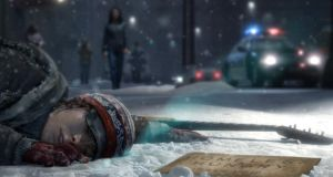 Screen shot from the videogame Beyond: Two Souls