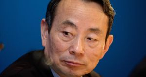 Jiang Jiemin, fired as director  of commission overseeing China's major state-owned companies. Photograph: Daniel J. Groshong/Bloomberg