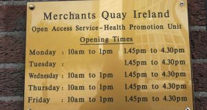 Merchant's Quay Ireland's report says  its needle-exchange service in Dublin recorded 20,847 client visits in 2012, up almost 2,000 on 2011. Altogether, 3,634 individuals accessed its needle-exchange programme in 2012, of which 558 were new users