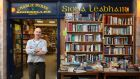 Charlie Byrne at his Bookshop in Middle Street and Cornstore Mall in Galway city. Photograph: Joe O'Shaughnessy