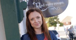 Fiona Kennedy, owner of Red Ruby Rouge in Holywood, County Down. Photograph:  Charles McQuillan/Pacemaker.