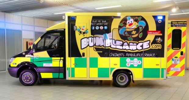 El Bumblance comenzará sus viajes reservados con antelación a los niños enfermos el 16 de septiembre.  Fotografía: Conor Healy Fotografía
