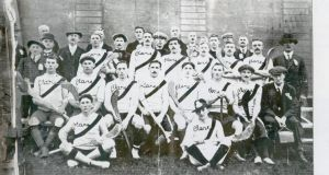 The victorious Clare team of 1914.