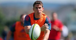 Ian Keatley: lines out at number 10 against Edinburgh at Musgrave Park tonight. Photograph: Inpho