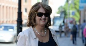 Joan Burton, Minister for Social Protection. Photograph: Frank Miller.