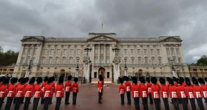 A security review has begun after a man scaled a fence to get inside the queen's home. Photograph: Anthony Devlin/PA Wire