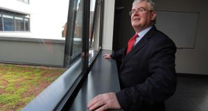 Tanaiste Eamon Gilmore at the Skainos Centre, Newtownards Road, Belfast recently. Photograph: Paul Faith/PA Wire