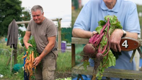 "Dermot McDonnell and Thomas Cassidy: ""People sometimes talk about the money you save when you grow your own food, but it's much more about the taste as well as the enjoyment."""