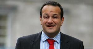 Minister for Transport and Tourism Leo Varadkar says precise adjustment figure is less important than avoiding new taxes. Photograph: David Sleator