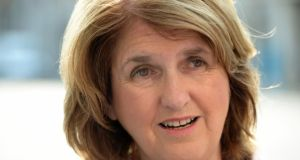 Minister for Social Protection Joan Burton: established JobBridge in 2011.  Photograph: Frank Miller