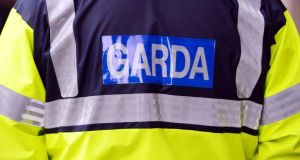 Gardaí are searching for three men after a cash-in-transit van driver was held-up at gunpoint in Tallaght, Dublin today.