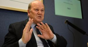 Minister for Finance Michael Noonan has defended the new Insolvency Service of Ireland public register
