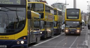 A suggestion that the move was a smokescreen for the privatisation of Dublin Bus was rejected. Photograph: Cyril Byrne