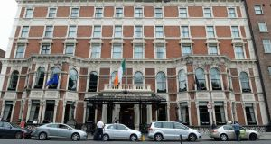 The Shelbourne Hotel in Dublin. Photograph: Frank Miller/The Irish Times
