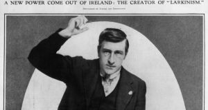 """A New Power Come Out Of Ireland: The Creator of 'Larkinism'""  – How the Illustrated London News saw Jame Larkin in 1913. (Photo by Hulton Archive/Getty Images)"